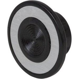 9001B23 30MM PB MUSHROOM KNOB BLACK