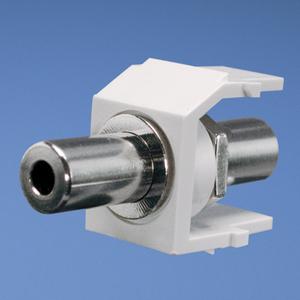 Panduit NK35MSCIW NK 3.5mm Stereo Coupler, Off White
