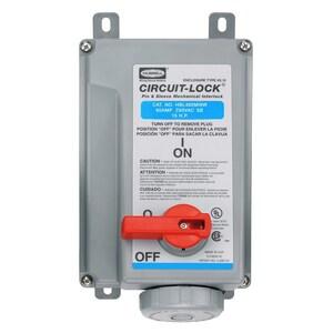 Hubbell-Wiring Kellems HBL460MI9W PS, IEC, MECHINT, 3P4W, 60A 3P 250V, W/T