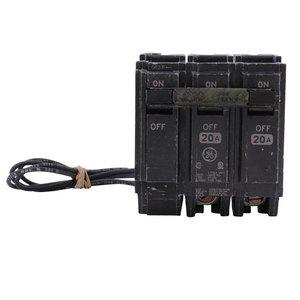 GE THQL2135ST1 Breaker, 35A, 2P, 120/240V, 10 kAIC, Shunt Trip 120VAC
