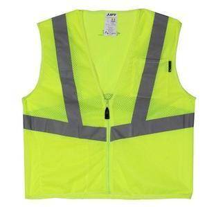 Lift Safety AVV-10LL Safety Vest, Viz-Pro - Size: Large, Yellow