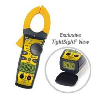 Ideal 61-763 Clamp Meter, TightSight, 660 Amp AC, 760 Series with TRMS