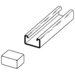 Eaton B-Line B852W PLASTIC END CAP FOR 13/16-IN. X 1 5/8-IN. CHANNEL (B52)