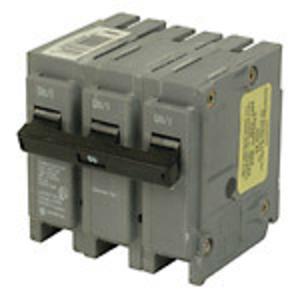"Eaton BRH380 Breaker, Plug-On, BR Type, 3P, 80A, 22kAIC, 240VAC, 3"" Width"
