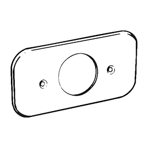 G1038CA STEEL COVER PLATE