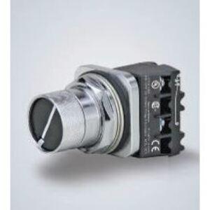 Siemens 52SA3Q1 Push Button, Selector Switch, 2 Position, Black, Flush, Cam Q