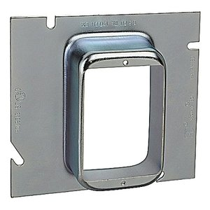 Steel City 82C-1G-1-1/4 5-SQUARE SINGLE GANG RING 1-1/4-IN