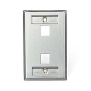 430801L2 SS WP 1G 2P Q/PORT W/ID WINDOW