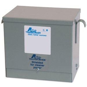 Acme T2A795161S Transformer, Dry Type, 3KVA, 600 Delta; - 480Y/277VAC, 3PH, NEMA 3R