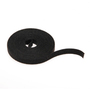 43115-15 BLACK VELCRO CBLTIE 15FEET ROLL