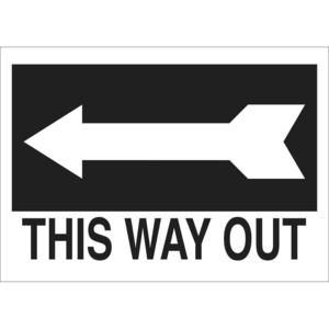 22476 DIRECTIONAL & EXIT SIGN