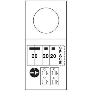 Midwest M038C010 100A, 1P, 120/240V, Metered Temporary Power