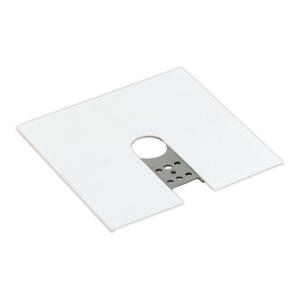 Lightolier 6060WH Basic End Feed Canopy, White