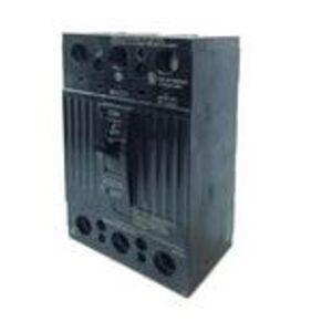 GE THQD32100WL Breaker, 100A, 3P, 240V, Q-Line, 22 kAIC, Lug In/Lug Out
