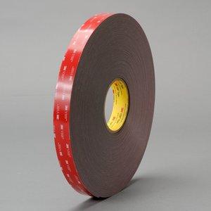 """3M 4919F(1/2X72YD) 3M 4919F(1/2""""x72yd) VHB Tape Black"""