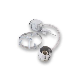 Lightolier 1003R Incandescent Non-IC Remodeler Frame-In Kit, 5""