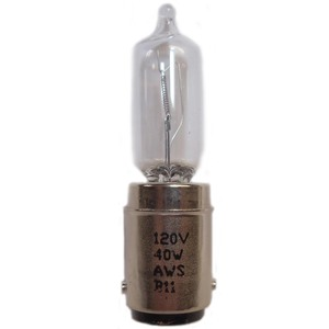 Edwards 50LMP-40WH Lamp, Replacement, Halogen, 120VAC, For use with 50 Series Beacons.