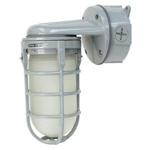 Cree Lighting C-VT-A-SMWL-9L-40K-GR LED Vapor Tite, Small, 120V, Wall Mount, 900L, 4000K, Gray