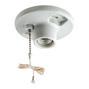 29816-C PORC.PULLCHAIN LAMP HOLDER