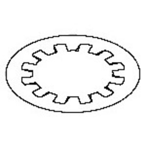 Allen-Bradley 871A-LWN30 Proximity Sensor, 30mm Lock Washer, 2 Washers per Set