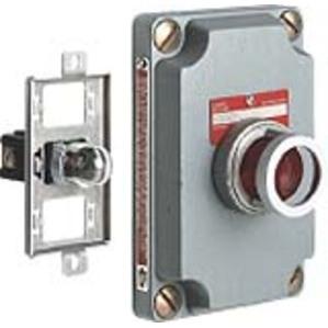 Hubbell-Killark XCS-0B24-GL Cli 120v Grn Pl Cv  (cs)