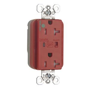 Pass & Seymour PTTR8300-REDSP P & S SURGE RECIP RED PLUGTAI