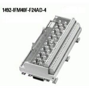 Allen-Bradley 1492-IFM40F-F24AD-4 Module, Digital, 16 Point, 24V AC/DC, Blown Fuse Ind., Fuse Clips