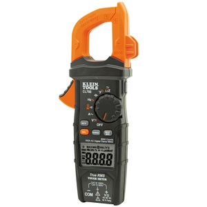 Klein CL700 Digital Clamp Meter, AC Auto-Ranging, 600A