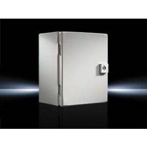 "Rittal JB161410HC Junction Box, NEMA 4X, Hinge Cover, 16 x 14 x 10"""