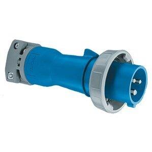 Hubbell-Wiring Kellems HBL532P6W Ps, Iec, Plug, 4p5w, 32a 220-415v, W/t