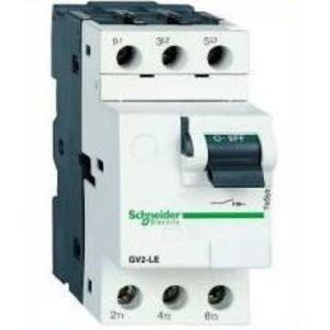 Square D GV2LE14 Manual Motor Control, Breaker Type, 10A, 600VAC, 3P, Screw Clamp