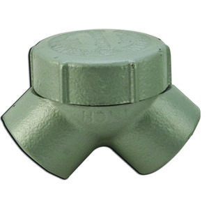 """Appleton ELBY-100 Pulling Elbow, Capped, 90°, 1"""", Explosionproof, Malleable Iron"""