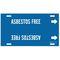4007-F B915 STY F W/BLUE ASBESTOS FREE