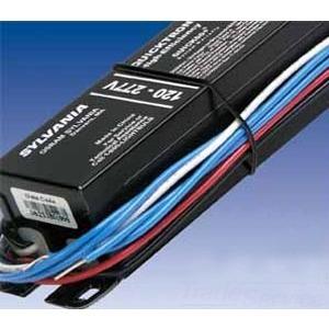 SYLVANIA QTP2X32T8/UNV-ISN-SC-B Electronic Ballast, Fluorescent, T8, 2-Lamp, 32W, 120-277V