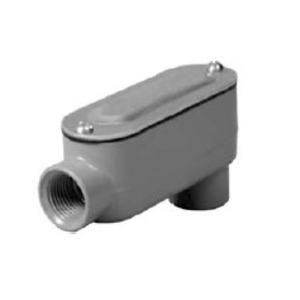 "Hubbell-Raco RLB200 Conduit Body, Type: LB, ""R"" Series, Size: 2"", Die Cast Aluminum"
