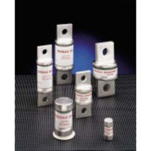 Mersen A6T100 Fuse, 100A, 600VAC, 300VDC, Class T, Fast Acting, Bolt On