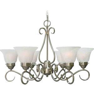 Volume Lighting V2446-33 Six Light Candelier