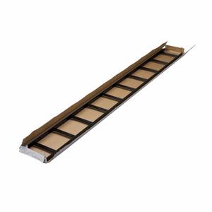 "Eaton B-Line SB17U24BFB Ladder Rack, Tubular Stringer, 24"" W, 1 - 1/2"" Rung, 119 - 1/2"" L, Black"