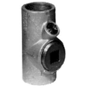 "Appleton EYS6 Sealing Fitting, Vertical/Horizontal, 2"", Explosionproof, Malleable"