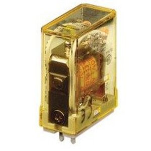 IDEC RH1B-ULAC120V General Purpose Relay, Blade Termination, SPDT, Indicator Light