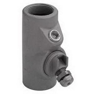 "Appleton EYD56 Drain and Conduit Sealing Fitting, 1-1/2"", Male/Female Hubs, Steel"