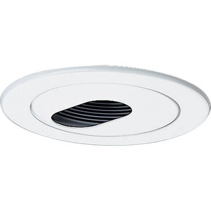 Progress Lighting P8039-28 SLOTTED RECESSED TRIM White