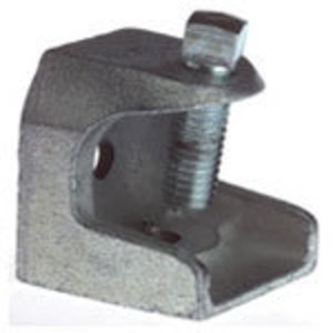 """Thomas & Betts 501 Beam Clamp, Size: 5/16-18, Flange Max: 7/8"""", Malleable Iron"""