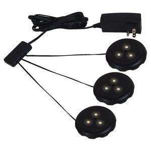 Sea Gull 98863SW-12 Puck Light, LED, 12W, 12V, Black