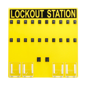 Panduit PSL-20SA Lockout Station (Sign Only), 20 person.
