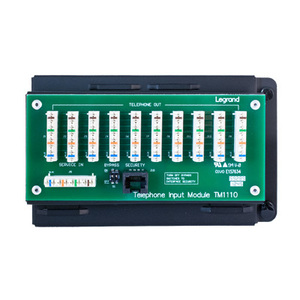 ON-Q TM1110 Phone Distribution Module 4 x 10, 4 Telephone Lines to 10 Locations
