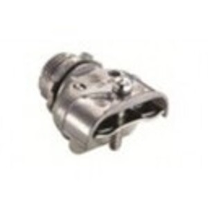 "Bridgeport Fittings 621-DC2 MC Connector, Duplex, Size 3/4"", Zinc Die Cast"