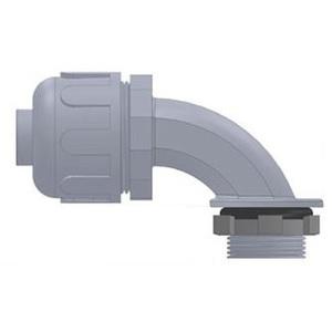 "Anamet 500011 Liquidtight Connector, 90°, 1"", Nylon"