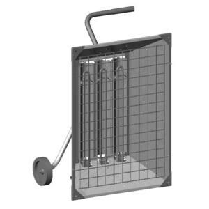 Chromalox 341243 Infra-Red Radiant Heater, 13.5kW, 480V, 3 Phase, 16.3 Amp
