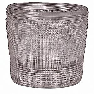 Hazlux VGL22P Globe, Clear Polycarbonate, 100 Watt Maximum